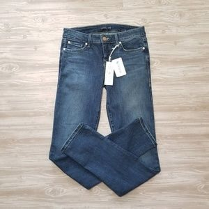 NWT Level 99 Lily Skinny Straight Montauk Jean